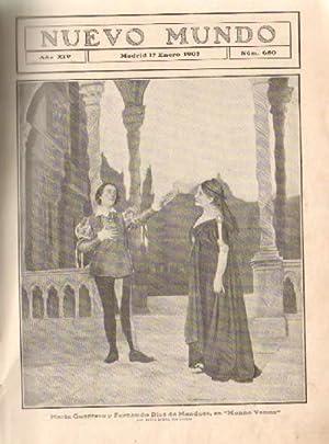 REVISTA NUEVO MUNDO. AÑO 1907: VV. AA.