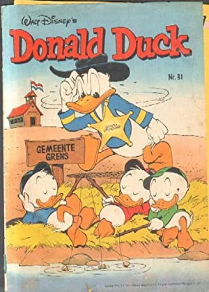 DONALD DUCK. WALT DISNEY S. Nº31.