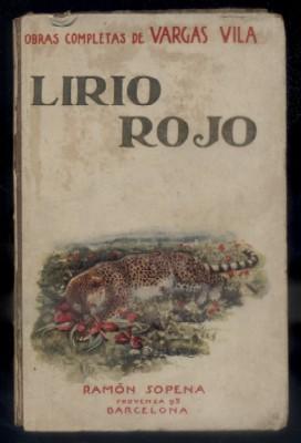 LIRIO ROJO. ELEONORA. EDICION DEFINITVA.: VARGAS VILA.