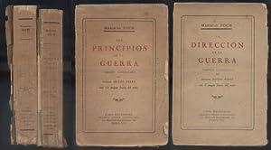 LOS PRINCIPIOS DE LA GUERRA. LA DIRECCION DE LA GUERRA. 2 TOMOS.: MARISCAL FOCH.