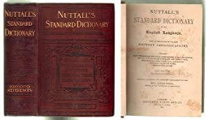 NUTTALL'S STANDARD DICTIONARY OF THE ENGLISH LANGUAGE.