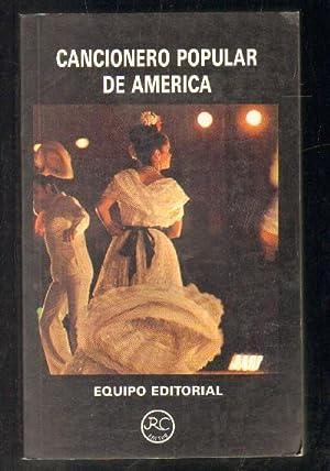 CANCIONERO POPULAR DE AMERICA.: VV.AA.