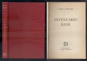 INVENTARIO BASE.: C. TRULOCK, JORGE.