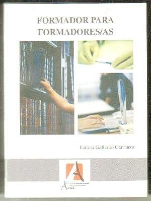 FORMADOR PARA FORMADORES: GALLARDO GARRANZO,FÁTIMA.