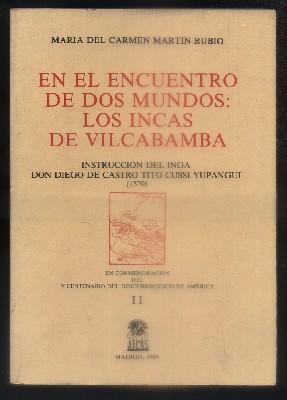 EN EL ENCUENTRO DE DOS MUNDOS; LOS: MARTIN RUBIO, MARIA