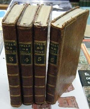ÉMILE OU DE L'EDUCATION. 4 TOMOS: 3,4,: ROUSSEAU, J.J.