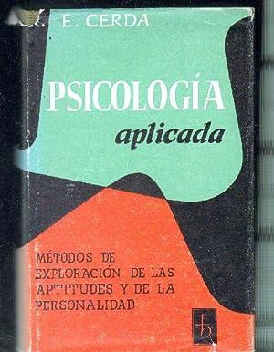 PSICOLOGIA APLICADA.: CERDÁ, ENRIQUE.