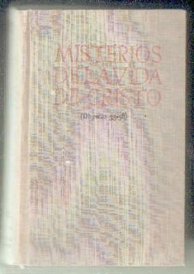III, TEOLOGÍA CRISTOLÓGICA Y MARIANA. MISTERIOS DE: SUÁREZ, FRANCISCO.