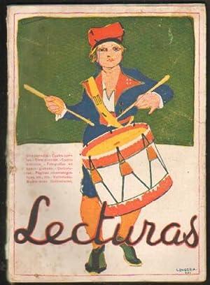 REVISTA LECTURAS Nº8. ENERO 1922: VV. AA.