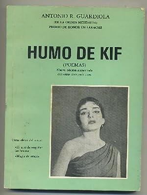 HUMO DE KIF (POEMAS): GUARDIOLA, ANTONIO R.