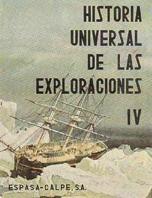HISTORIA UNIVERSAL DE LAS EXPLORACIONES.EPOCA CONTEMPORANEA. TOMO: VV.AA