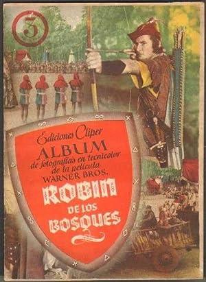 ROBIN DE LOS BOSQUES. ALBUM DE LA PELICULA. EDICIONES CLIPER. (COMPLETO): VV. AA.