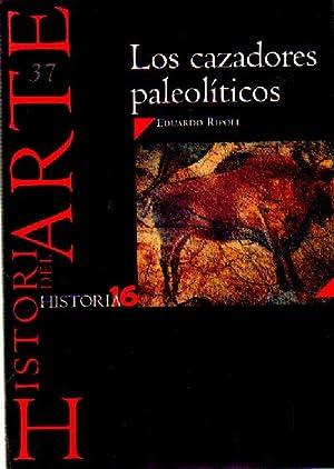 LOS CAZADORES PALEOLITICOS Nº 37 HISTORIA 16: RIPOLL, EDUARDO