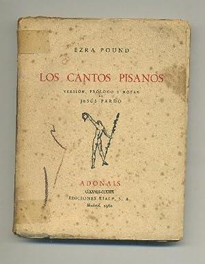 LOS CANTOS PISANOS: POUND, EZRA