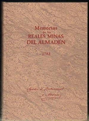 MEMORIAS DE LAS REALES MINAS DEL ALMADEN: BETANCOURT Y MOLINA,