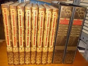 LA SEGUNDA GUERRA MUNDIAL. 8 TOMOS + 2 ESTUCHES CON 8 VHS.: VV.AA.