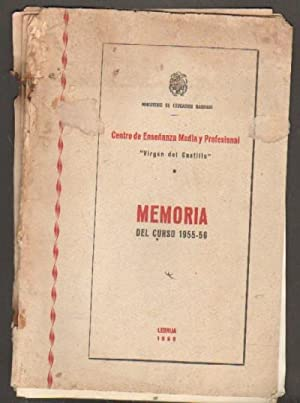CENTRO DE ENSEÑANZA MEDIA Y PROFESIONAL VIRGEN: VV. AA.