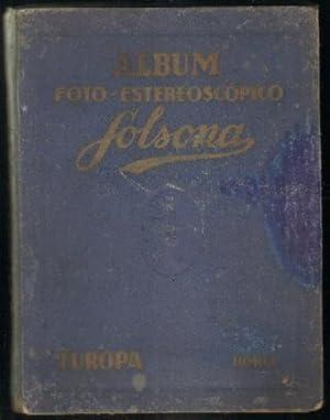 ALBUM FOTO-ESTEREOSCOPICO SOLSONA. EUROPA. TOMO I: VV. AA.