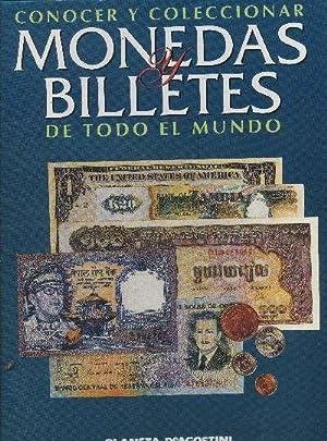 CONOCER Y COLECCIONAR MONEDAS Y BILLETES DE TODO EL MUNDO (5 TOMOS/CARPETAS): VV.AA.