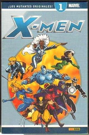 X-MEN ¡LOS MUTANTES ORIGINALES! Nº1 MARVEL ¡: VV. AA.