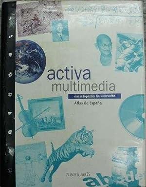 ACTIVA MULTIMEDIA. ENCICLOPEDIA DE CONSULTA. ATLAS DE ESPAÑA.: VV. AA