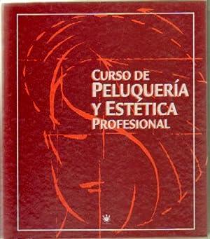 CURSO DE PELUQUERIA Y ESTETICA PROFESIONAL (4 ARCHIVADORES): VV. AA.