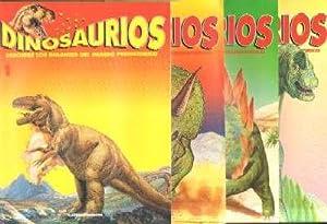 DINOSAURIOS. DESCUBRE LOS GIGANTES DEL MUNDO PREHISTORICO (64 FASCICULOS CON TAPAS): VV. AA.