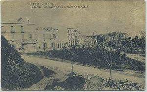 POSTAL DE MARRUECOS. LARACHE. JARDINES DE LA