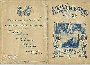 LISTA DE PRECIOS CUADERNO 8 PAGINAS.A.R. VALDESPINO