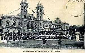 POSTAL DE SAN SEBASTIAN. GRAN CASINO JURA