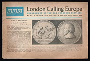 London Calling Europe. programmes of the BBC European Services. Nº-802 1964