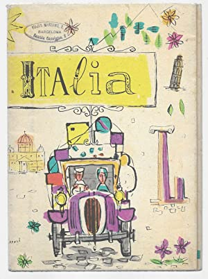 Viagcio in Italia Folleto turistico 1954