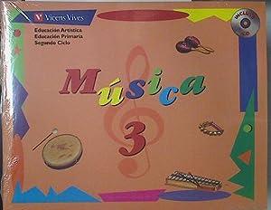 Música, 3 Educación Primaria, 2 ciclo,: Cateura Mateu, María
