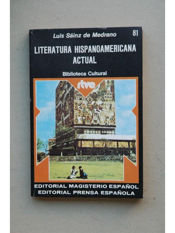 Literatura hispanoamericana actual