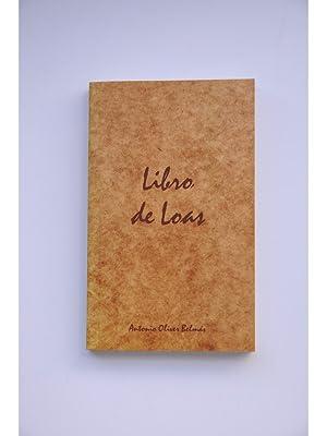 Libro de loas: OLIVER BELMÁS, Antonio