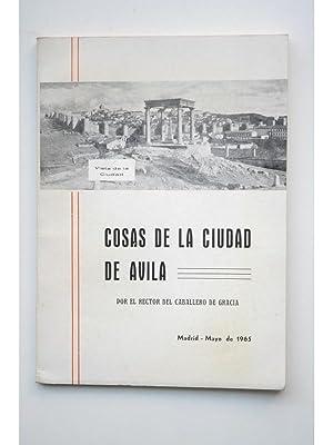 Cosas de la ciudad de Ávila: MUÑOZ SÁNCHEZ, José María