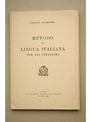 Metodo di lingua italiana per gli stranieri: GUARNIERI, Romano
