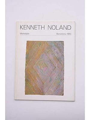 Kenneth Noland : monotipos, Barcelona 1983: NOLAND, Kenneth