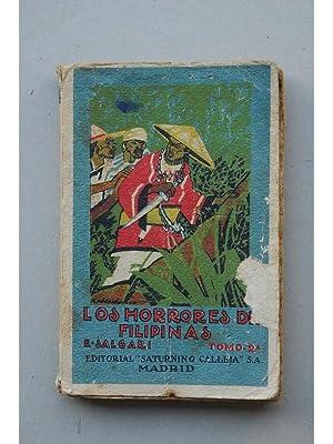 Los horrores de Filipinas. novela de aventuras: SALGARI, Emilio
