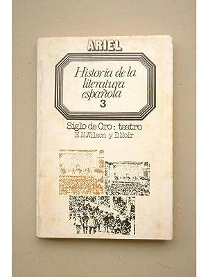 Siglo de Oro : teatro (1492-1700): WILSON, E. M.