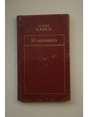 El extranjero: CAMUS, Albert