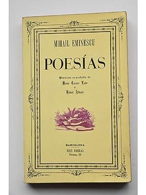 Poesías. Mihail Eminescu: EMINESCU, Mihail