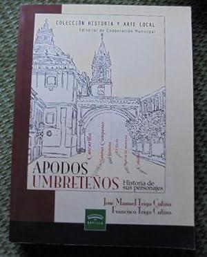 APODOS UMBRETEÑOS. Historia de sus personajes.: José Manuel Trigo