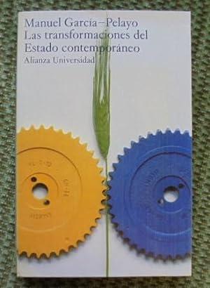 LAS TRANSFORMACIONES DEL ESTADO CONTEMPORANEO.: García Pelayo, Manuel