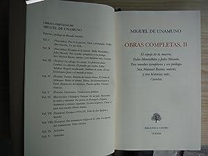 OBRAS COMPLETAS: UNAMUNO, Miguel de