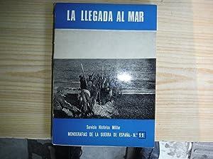 LA LLEGADA AL MAR: MARTINEZ BANDE, José