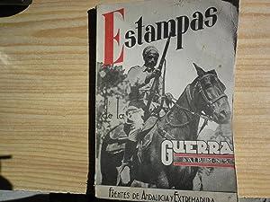 ESTAMPAS DE LA GUERRA. FRENTES DE ANDALUCIA Y EXTREMADURA: URRUTIA, Federico de