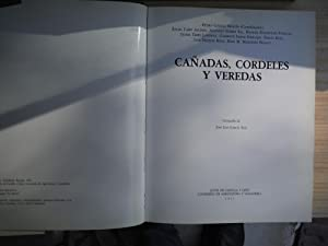CAÑADAS, CORDELES Y VEREDAS: GARCIA MARTIN, Pedro