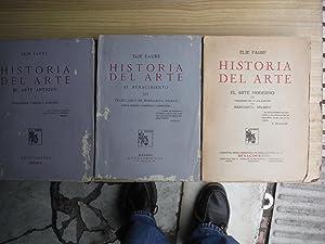 HISTORIA DEL ARTE. EL ARTE ANTIGUO. EL: FAURE, Elie