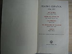 TEATRO ESPÁÑOL 1956-57: TEATRO ESPAÑOL